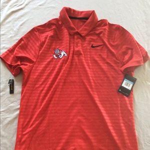Red Fresno State Polo Shirt
